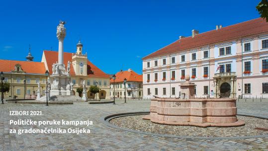 Osijek gradonačelnik lokalni izbori 2021.